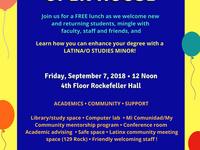 Latina/o Studies Open House