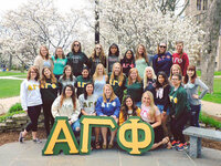 Event image for Alpha Gamma Phi Family Day Pumpkin Painting