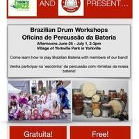 Brazilian Drum Workshops