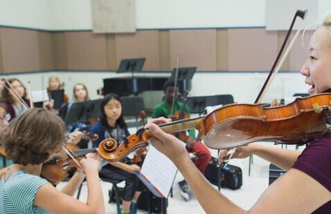 Band and Orchestra Camp Final Concert