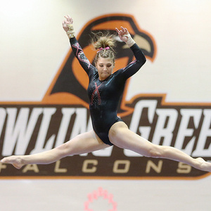 BGSU Gymnastics at Central Michigan