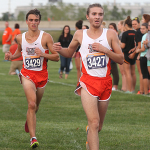 BGSU Men's Cross Country at MAC Championships