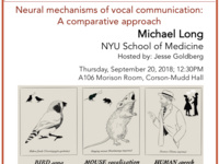 NBB Seminar Speaker; Michael Long, NYU School of Medicine