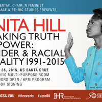 """Anita Hill: """"Speaking Truth to Power: Gender and Racial Equality - 1991-2015''"""