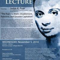 Lionel Cantu Lecture: Jasbir K. Puar