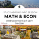 Study Abroad for Math and Economics Majors & Minors