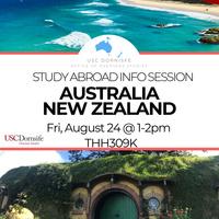 Study Abroad Info Session - Australia/New Zealand