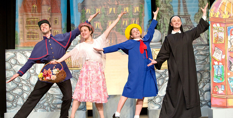 Tri-ART:  Madeline and the Bad Hat MOVED to NewSpring Church in Clemson