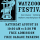 Library Wayzgoose Festival