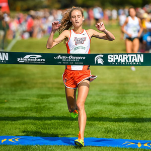 BGSU Women's Cross Country at Spartan Invitational