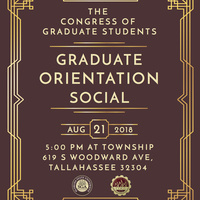 Congress of Graduate Students Graduate Orientation Social