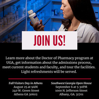 College of Pharmacy Open House (Southeast Georgia Campus)