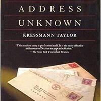 Jewish Studies Sunday Book Group: Address Unknown