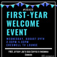 First-Year Welcome Event