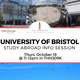 University of Bristol Study Abroad Info Session