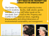 CEL Speaker Series: Jeff Sellen on Ethics & Environmental Sustainability