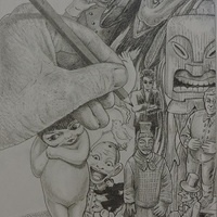 """The Gallery@Nest is Proud to Present """"Frank Heller 2B - 1 Drawing Lead 2 Another"""""""