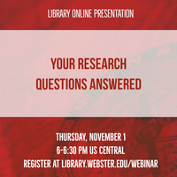 Your Research Questions Answered
