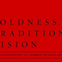 The Inauguration of Carmen Twillie Ambar
