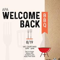APASA's Welcome Back BBQ