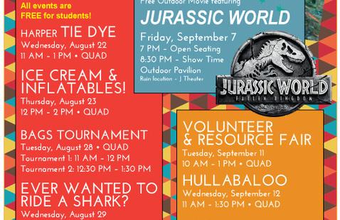 Volunteer & Resource Fair for Harper Students