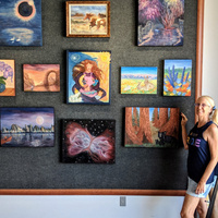 Therese Verner - Artist Reception