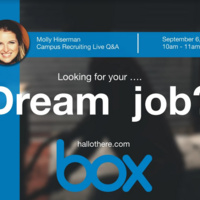Box Campus Recruiting Online Information Session
