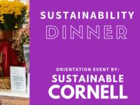 Sustainability Dinner