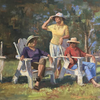 Fall 2018 Painting Classes with Curney Nuffer