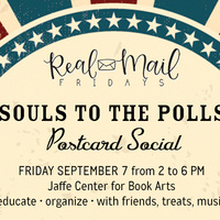 Real Mail Fridays: Souls to the Polls Postcard Social