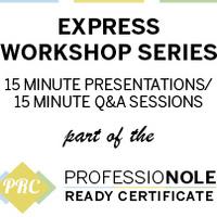 Résumés: PRC Express Workshop