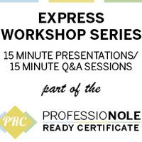 Exploring Graduate School: PRC Express Workshop