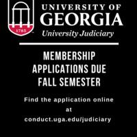 University Judiciary Information Session