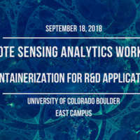 Remote Sensing Analytics Workshop: Containerization for R&D Applications