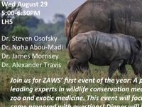 Wildlife Conservation, Zoological and Exotic Medicine Career Panel