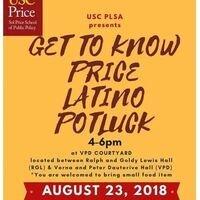 Get to Know Price Latino Potluck