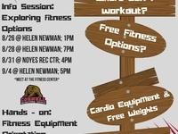 Hands-on: Fitness Equipment Orientation