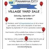 Kanawha City Village Yard Sale