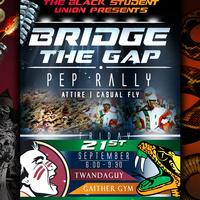BSU Bridging the Gap Pep Rally