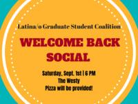 LGSC Welcome Back Social