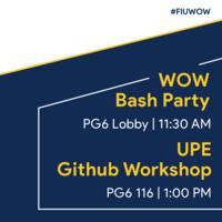 SCIS Bash Party & Software Development & Git Workshop