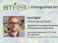"""Regulation of receptor kinase-based signaling during immunity and beyond"" - Cyril Zipfel"