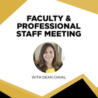 Fall 2018 Faculty & Professional Staff Meeting