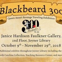 Blackbeard 300, Queen Anne's Revenge Exhibition Reception