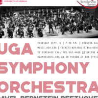 Thursday Scholarship Series: UGA Symphony Orchestra