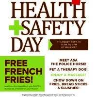 Health and Safety Fair | Communications and Public Affairs