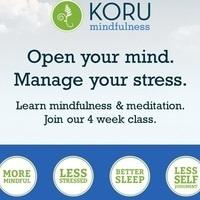 KORU Mindfulness FREE 4-week class