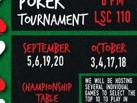 Texas Hold 'Em Championship Table