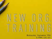 New Organization Training