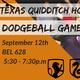 Slytherin/Gryfindor Dodgeball